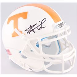Alvin Kamara Signed Tennessee Volunteers Mini-Helmet (JSA COA)