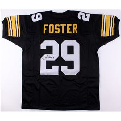 Barry Foster Signed Steelers Jersey (JSA COA)