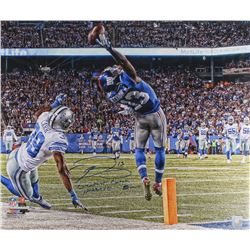 "Odell Beckham Jr. Signed LE Giants ""The Catch"" 20x24 Photo Inscribed ""Greatest Catch Ever""  ""11-23-1"