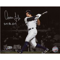 "Aaron Judge Signed Yankees 16x20 Photo Inscribed ""2017 AL ROY"" (Fanatics)"