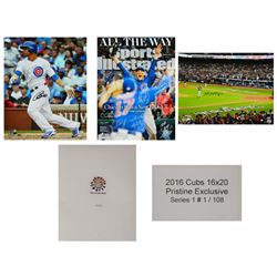 Chicago Cubs Signed Mystery Box 2016 World Series 16x20 Photos – Grand Prize TEAM Signed 16x20
