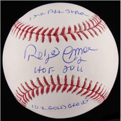 "Roberto Alomar Signed OML Baseball Inscribed ""12x All Star"", ""HOF 2011""  ""10x Gold Glove"" (JSA COA)"