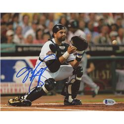 "Mike Piazza Signed ""All Star Game""  8x10 Photo (Beckett COA)"