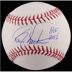"Barry Larkin Signed OML Baseball Inscribed ""HOF 2012"" (JSA COA)"