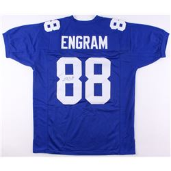 Evan Engram Signed Giants Jersey (JSA COA)