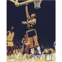 Rick Barry Signed Warriors 8x10 Photo (FSC COA)