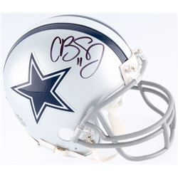 Cole Beasley Signed Cowboys Mini-Helmet (Fanatics Hologram)