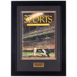 Original First Issue Sports Illustrated 14x19 Custom Framed Magazine from August 16, 1954