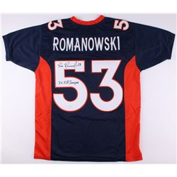 "Bill Romanowski Signed Broncos Jersey Inscribed ""2x SB Champs"" (JSA COA)"