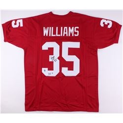 "Aeneas Williams Signed Cardinals Jersey Inscribed ""HOF 14"" (Jersey Source COA)"