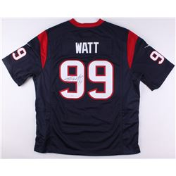 J. J. Watt Signed Texans Nike Authentic Jersey (JSA COA)