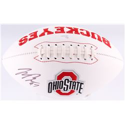 Joey Bosa Signed Ohio State Buckeyes Logo Football (JSA)