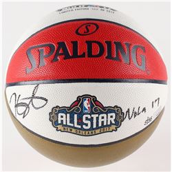 "Kevin Durant Signed LE All-Star Money Ball Basketball Inscribed ""NOLA 17"" (Panini COA)"
