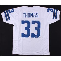 "Duane Thomas Signed Cowboys Jersey Inscribed ""SB VI Champs"" (Jersey Source COA)"