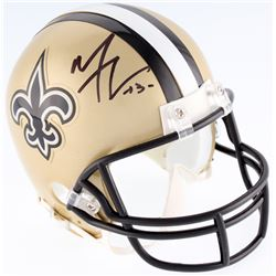 Michael Thomas Signed Saints Mini Helmet (JSA COA)