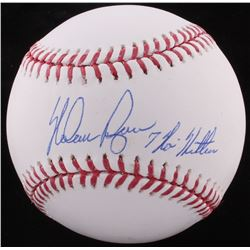 "Nolan Ryan Signed OML Baseball Inscribed ""7 No Hitters"" (FSC COA  Ryan Hologram)"