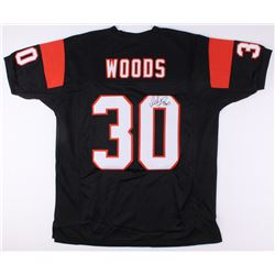 Ickey Woods Signed Bengals Jersey (JSA COA)
