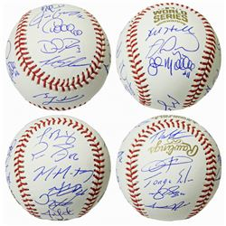 Chicago Cubs 2016 World Series Champion Team-Signed OML Baseball with (22) Signatures Including Ben