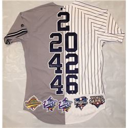 """Derek Jeter, Mariano Rivera, Andy Pettitte  Jorge Posada Signed LE Yankees """"Core Four"""" Majestic Auth"""