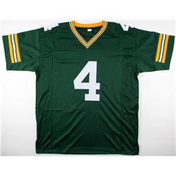 "Brett Favre Signed Packers Jersey Inscribed ""95, 96, 97 MVP"" (Favre COA)"