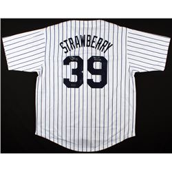 "Darryl Strawberry Signed Yankees Jersey Inscribed ""3x WS Champs"" (Radtke COA)"