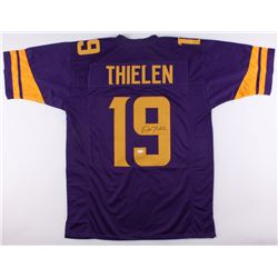 Adam Thielen Signed Vikings Color Rush Jersey (JSA COA)