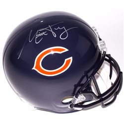 Mitch Trubisky Signed Bears Full-Size Helmet (Fanatics Hologram)