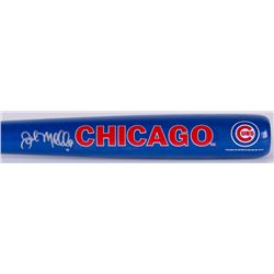 John Mallee Signed Franklin Cubs Mini Baseball Bat (Schwartz COA)