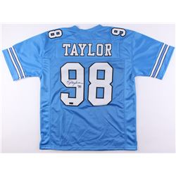 Lawrence Taylor Signed North Carolina Tar Heels Jersey (Radtke Hologram)