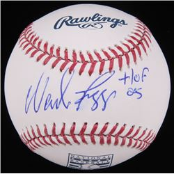 "Wade Boggs Signed Hall Of Fame Logo Baseball Inscribed ""HOF 05"" (Radtke Hologram)"