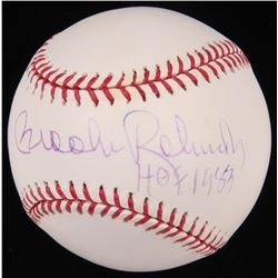 "Brooks Robinson Signed OML Baseball Inscribed ""HOF 1983"" (Radtke Hologram)"
