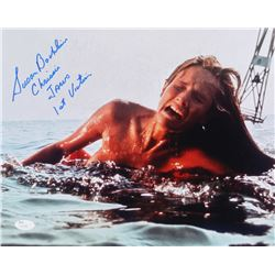 "Susan Backlinie Signed ""Jaws"" 11x14 Photo Inscribed ""Chrissie""  ""Jaws 1st Victim"" (JSA COA)"