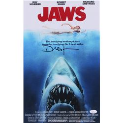 "Richard Dreyfuss Signed ""Jaws"" 11x17 Photo (JSA COA)"