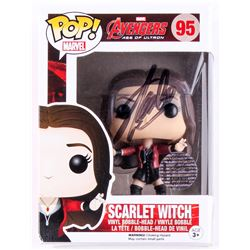 "Stan Lee Signed ""Scarlet Witch"" Marvel Funko Pop Figure (Lee Hologram)"
