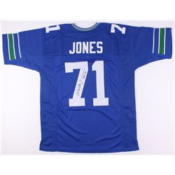 "Walter Jones Signed Seahawks Jersey Inscribed ""HOF '14"" (JSA COA)"