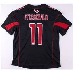 Larry Fitzgerald Signed Cardinals Color Rush Jersey (JSA COA)