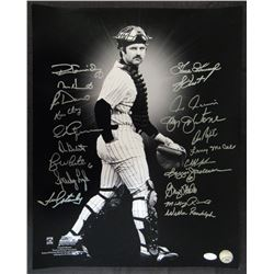 1978 Yankees 16x20 Photo Team-Signed by (20) with Ron Guidry, Mike Heath, Ron Davis, Ed Figueroa (JS