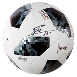 "Lionel ""Leo"" Messi Signed 2018 FIFA World Cup Telstar Soccer Ball (Icons COA)"