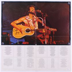 Cat Stevens Signed 22x22 Movie Poster (JSA LOA)