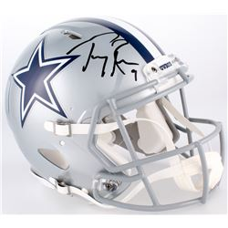 Tony Romo Signed Cowboys Full-Size Authentic On-Field Speed Helmet (JSA Hologram)