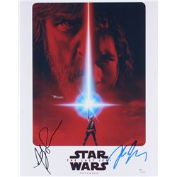 Star Wars The Last Jedi 11x14 Photo Signed By Rian Johnson  Andy Serkis (JSA COA)