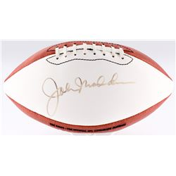 John Madden Signed Wilson Official NFL Football (JSA LOA)