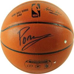 Kristaps Porzingis Signed NBA Game Ball Series Basketball (Steiner)
