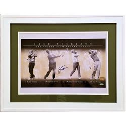 Jack Nicklaus Signed 22x28 Custom Framed Photo (Steiner Hologram)