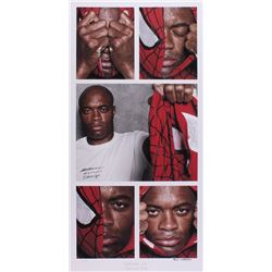 "Anderson Silva ""Spiderman Lives!"" Signed 17.5x35 UFC Fine Art Giclee by Iconic Sports Photographer E"