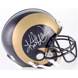 Kurt Warner Signed Rams Full-Size Authentic On-Field Helmet (Warner Hologram)