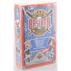 1992 Upper Deck Baseball Hobby Box
