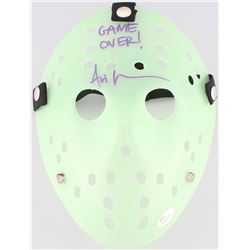 "Ari Lehman Signed Jason ""Friday the 13th"" Hockey Mask Inscribed ""Game Over!"" (JSA COA)"