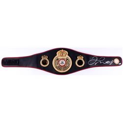 Floyd Mayweather Jr. Signed WBA Full-Size Heavyweight Champion Belt (Beckett COA)