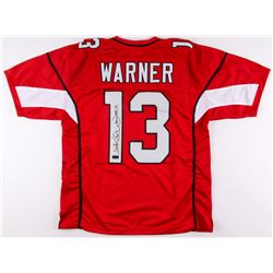 "Kurt Warner Signed Cardinals Jersey Inscribed ""HOF 17"" (Radtke COA)"